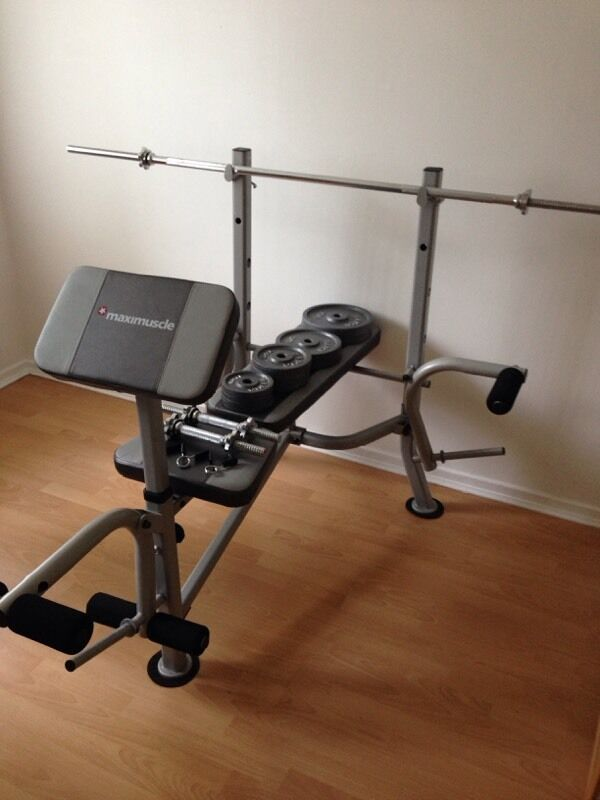 Maximuscle Multi Use Workout Bench And Fly In