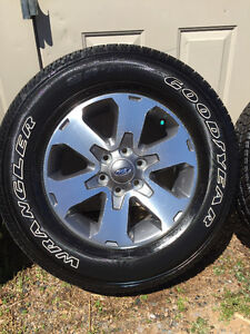 2014 Ford F150 Rims with tires