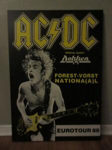 AC/DC Tour Poster