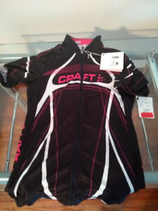 New womens  Craft cycling jersey &  Hincapie padded Capri shorts