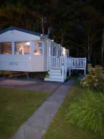 3 bed caravan in Ayr with Decking