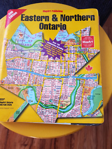 Map book of Eastern & northern  ontario