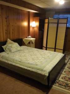 Small basement suite in Westsyde