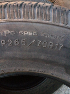Good condition truck tires