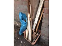 FREE kindling wood off cuts timber ideal for fire lighters for log burner