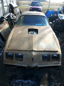 1980 Trans Am parts or whole