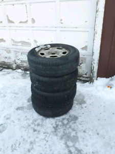 4 snow tires on rims for a toyota Tacoma