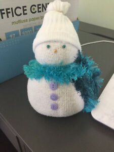Cute Homemade Sock Snowman