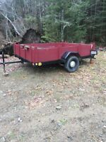 7' by 9' utility trailer