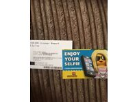 X2 Legoland tickets for the 07/09/2018