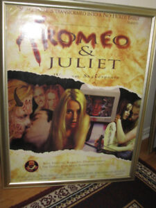 CULT CLASSIC LARGE - TROMEO and JULIE - MOVIE POSTER REDUCED