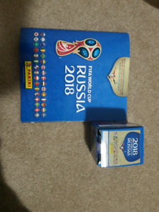 World cup stickers panini