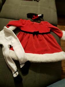 Christmas Dress 6-9 months