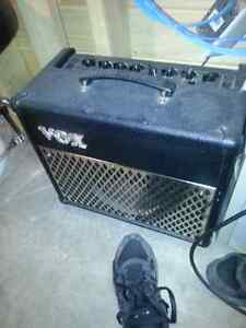 Vox amplifier. . Powers up but no sound..