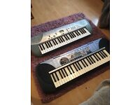 2 ELECTRIC KEYBOARDS (NO WIRES)