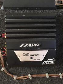 Alpine V Power MRP-M350 Class D 700w