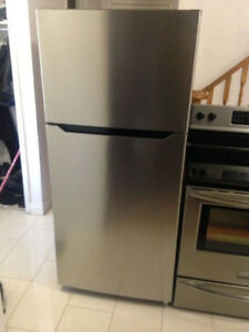 Stainless Steel Perfect Condition Fridge For Sale