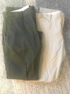 J Crew 484 Stretch Chino $40 each or 2 for $60.