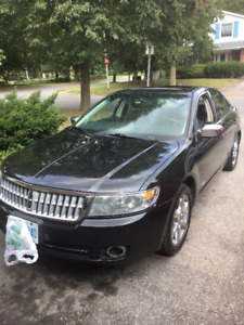 2009 Lincoln MKZ Sedan, Black, Certified and e tested,