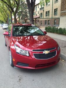 2011 Red Chevy Cruz LT Turbo $10000 low mileage!