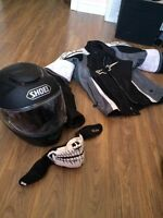 Helmet shoei alpine jacket