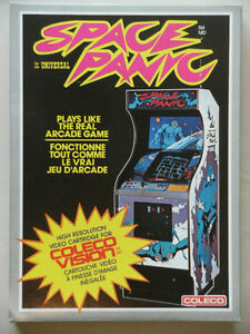 COLECO Video Game: SPACE PANIC