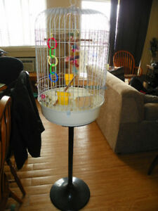 BIRDCAGE, STAND INCLUDED $35