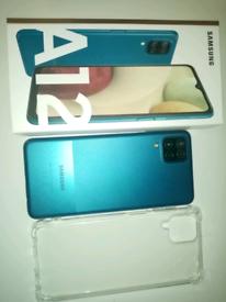 Samsung galaxy a12 with case 64gb
