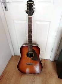 Epiphone acoustic guitar 1976 vintage made in Japan