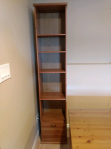 Alve Ikea desk and bookcase for sale