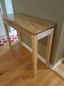 Solid wood entry table / console table