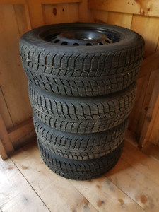 195 65 15 Winter Tires and Rims