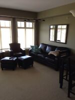 fully furnished 2 bedroom condo close to UBC and Kelowna Airport