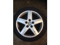Vw touran,golf,jetta alloy wheel 17""