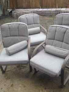 PATIO DINING SET w/ FIRE PIT TABLE!! AMAZING PRICE, OBO!!