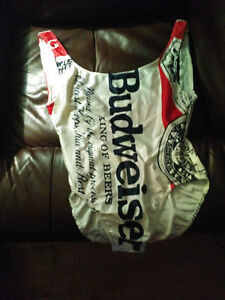 Vintage 1980's Budweiser woman's swimsuit size 5/6