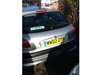 Pug 206 excellent condition lots of mot on it brill run around
