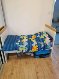 Toddler bed can convert to cot