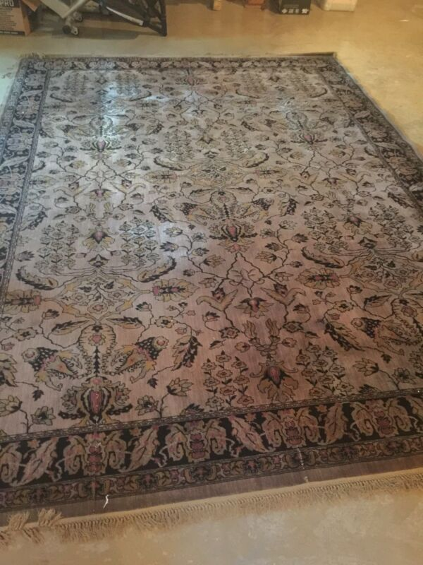 Fetterolf Ludlow Antique Vintage Rug 9x12 Early 1900