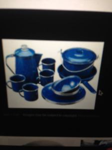 Wanted camping dishes