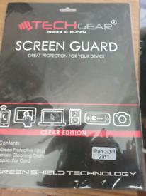 X2 ipad 2017 screen protectors