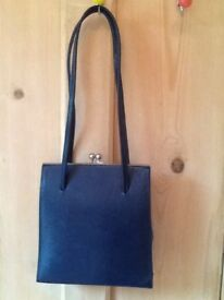 💙 Next navy blue vintage look wedding special occasion bag
