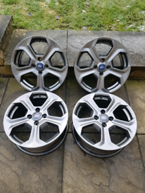 Fiesta ST alloy wheels. ** Refurbished alloys **