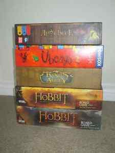 Large selection of boardgames, promos