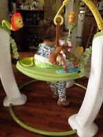 Like NEW Exersaucer - $75 Negotiable