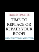 Time To Replace Your Old Shingles? FREE ESTIMATES!