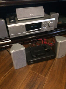 PHILIPS DVD/CD Player & Digital AV Sur. Receiv. &Wireless Speak.