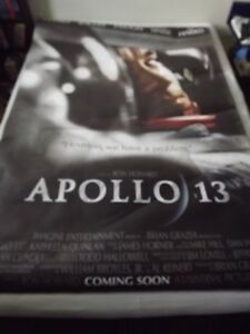 APOLLO 13  BUS SHELTER POSTER 1995+ 2 SPACE/ASTRONAUT POSTERS