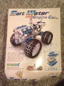 Salt Water Powered Truck and Solar Panel kit