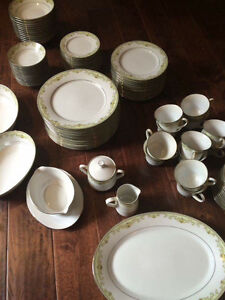 Complete set of Noritake China.